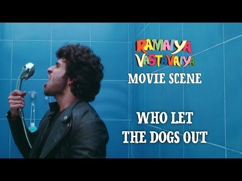 Who Let The Dogs Out - Ramaiya Vastavaiya Scene - Girish Kumar & Shruti Haasan - YouTube