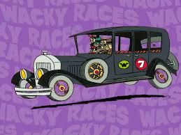 La Antigualla Blindada Conducido Por Mafio Y Sus Pandilleros Los A Fondo De Pantalla De Dibujos Animados Autos Locos Personajes De Dibujos Animados Clasicos