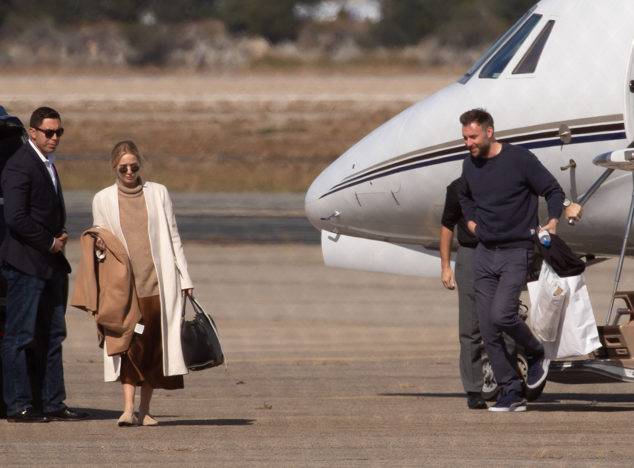 Jennifer Lawrence And Cooke Maroney Arrive In Rhode Island By