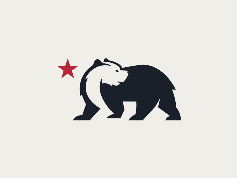 Bear Logo For A Brewery Based In California Bear Logo Logos California Logo