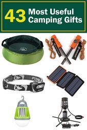 The best camping gifts for people who love to be outdoors This is an awesome li