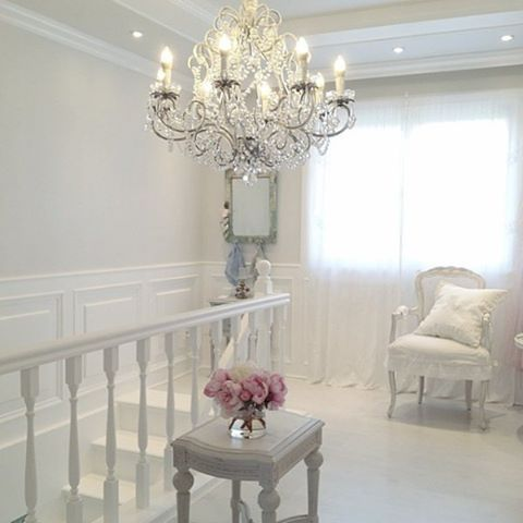 Shabby and Charming An apartment very shabby chic A White Room 1 - faire son plan maison