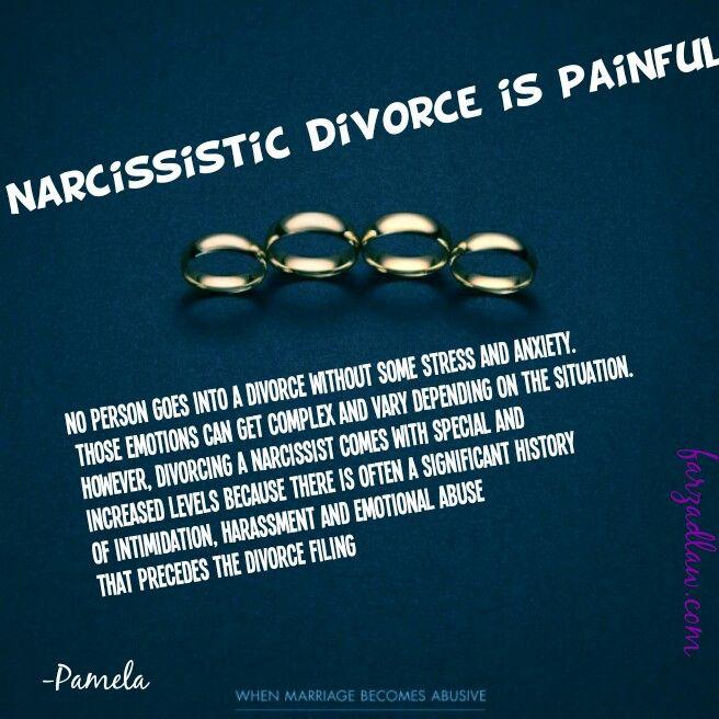 Narcissist and divorce
