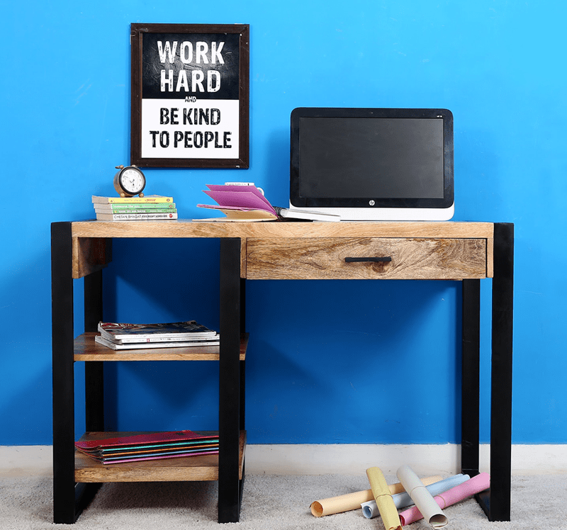 Wally Study Table has simple yet stylish design to give your
