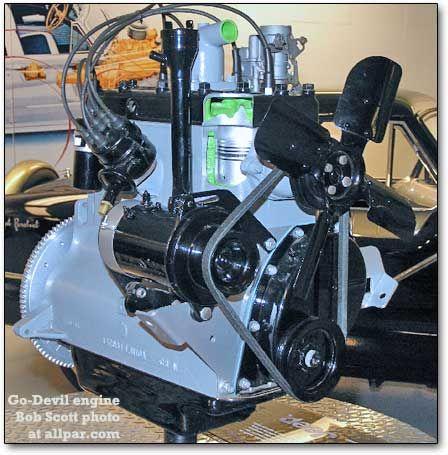 godevil engine Whippet Pinterest – Jeep Flathead 4 Engine Diagram