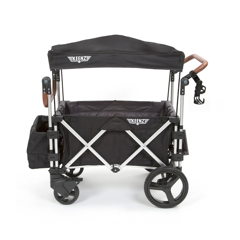 Keenz 7s Double Stroller Wagon Black Double strollers