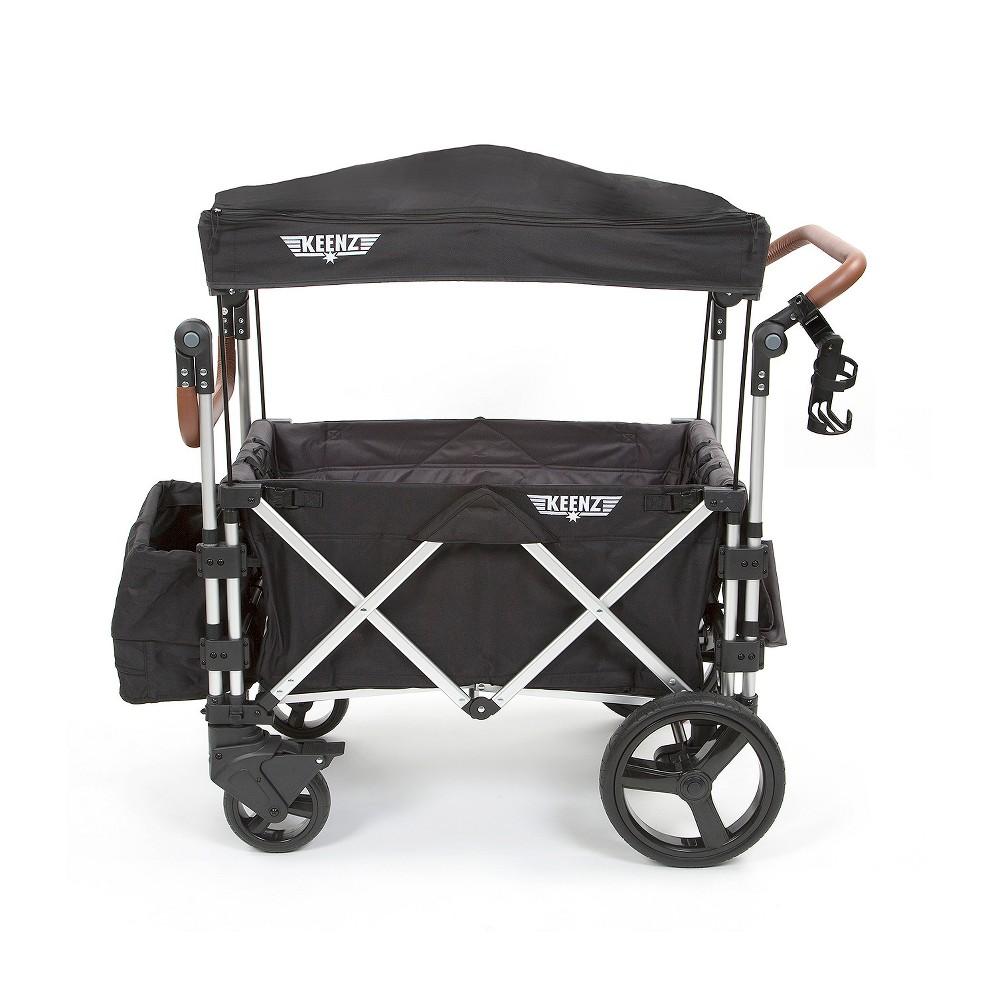 Keenz 7s Double Stroller Wagon Black Double strollers