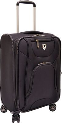 "Traveler's Choice Cornwall 22"" Spinner Luggage Black - via eBags.com!"