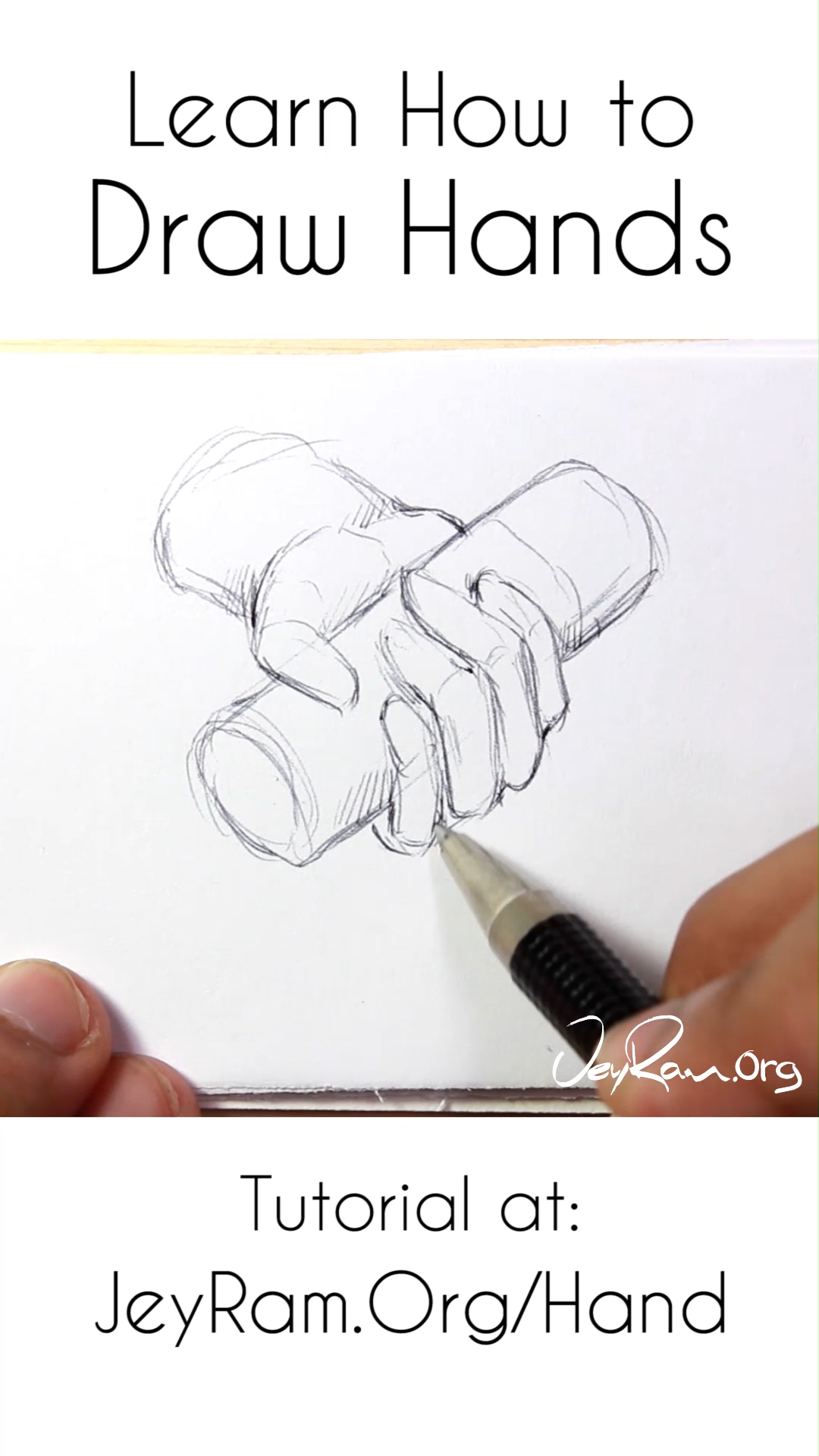 Learn How To Draw Hands Tutorial Amp Worksheets Animation