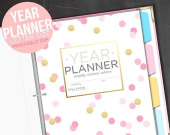 monthly year planner