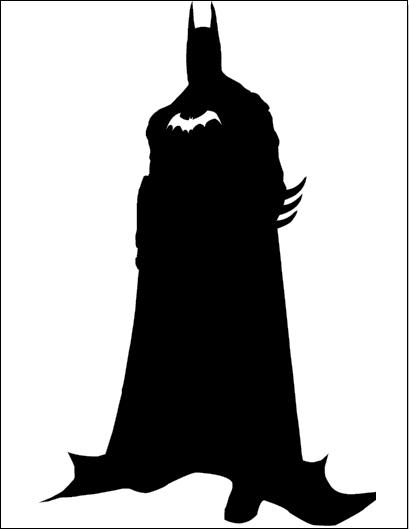 Batman Silhouette By Ba Ru Ga Deviantart Com On