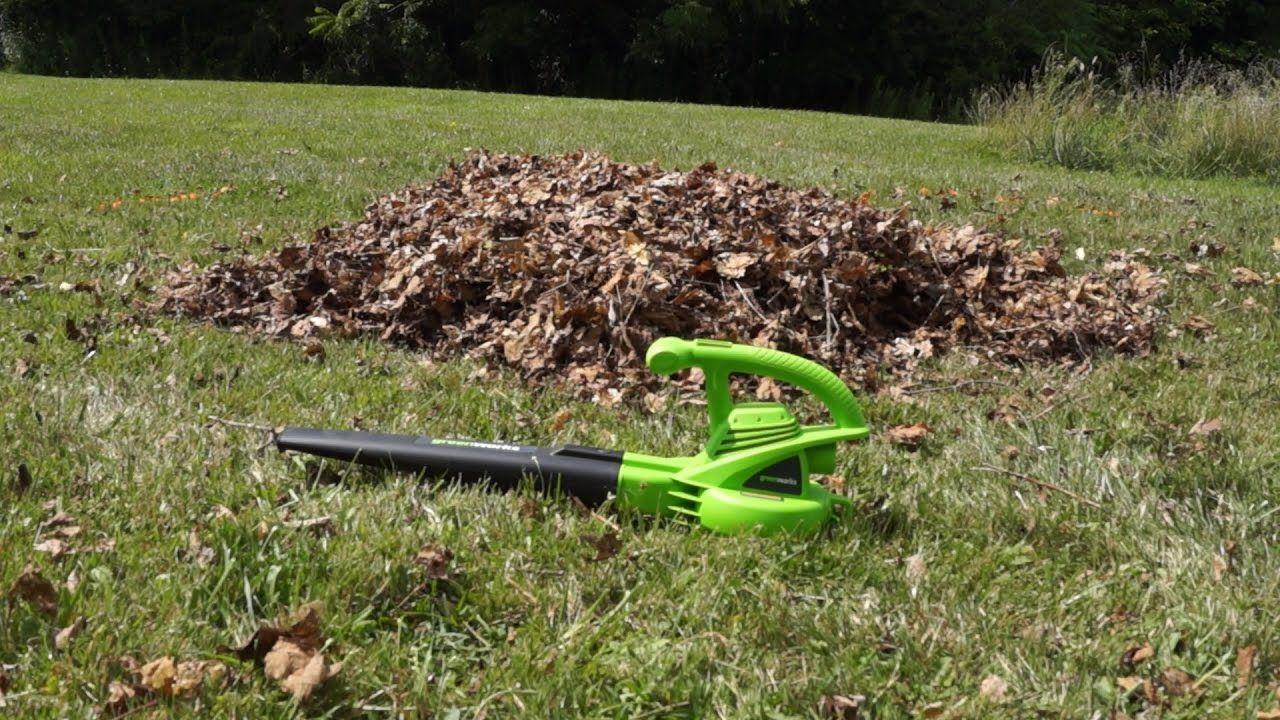 Greenworks 24012 7 Amp Electric Leaf Blower Reviews 2019 | Garden