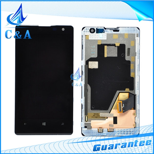 61.80$  Buy now - http://ali1kf.worldwells.pw/go.php?t=32477343249 - free shipping replacement parts for nokia lumia 1020 lcd display panel with touch screen digitizer and frame accesories assembly 61.80$