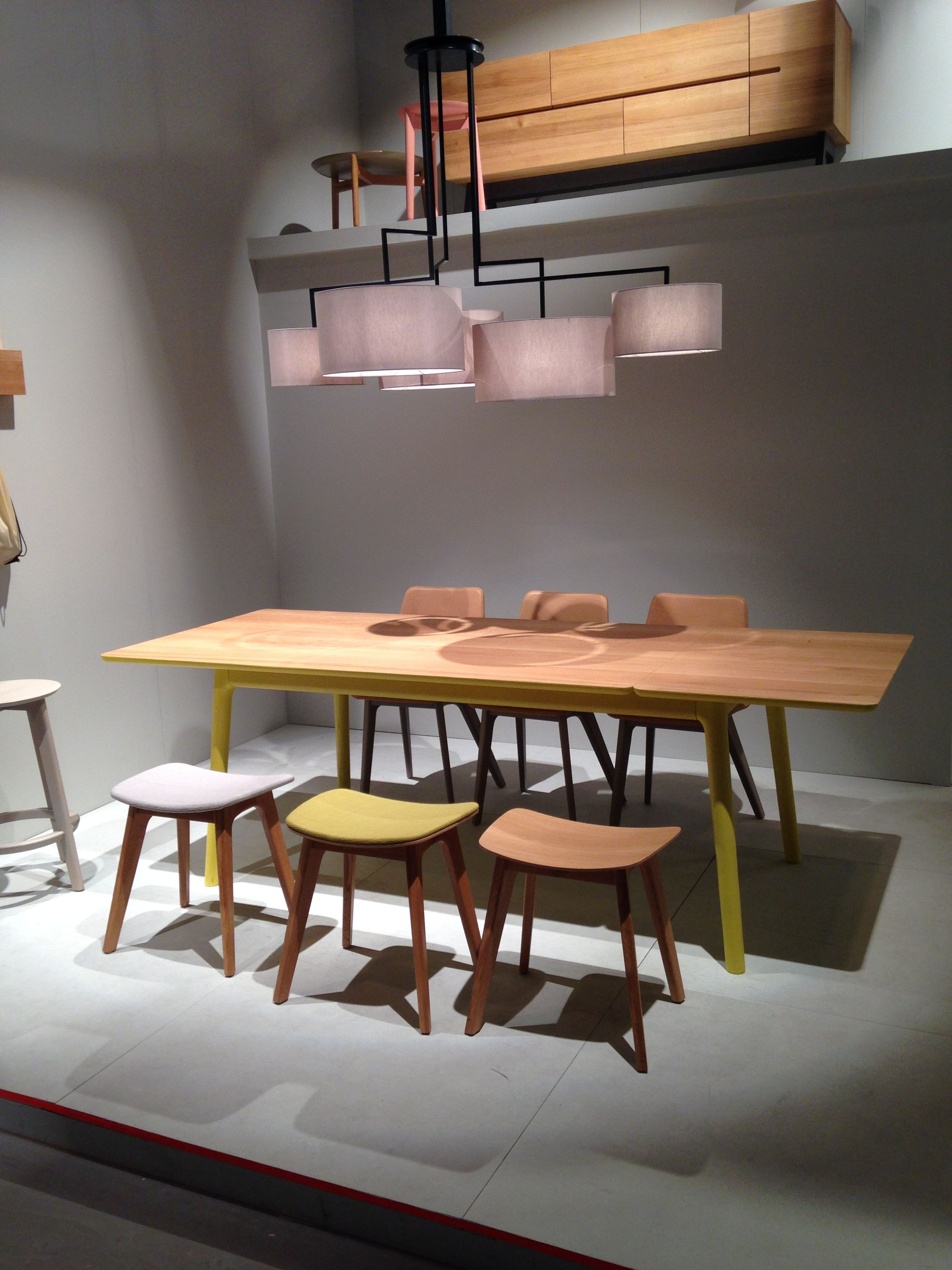 The New MORPH STOOL By Formstelle And New E8 LONGUE Table By Mathias Hahn  Under The