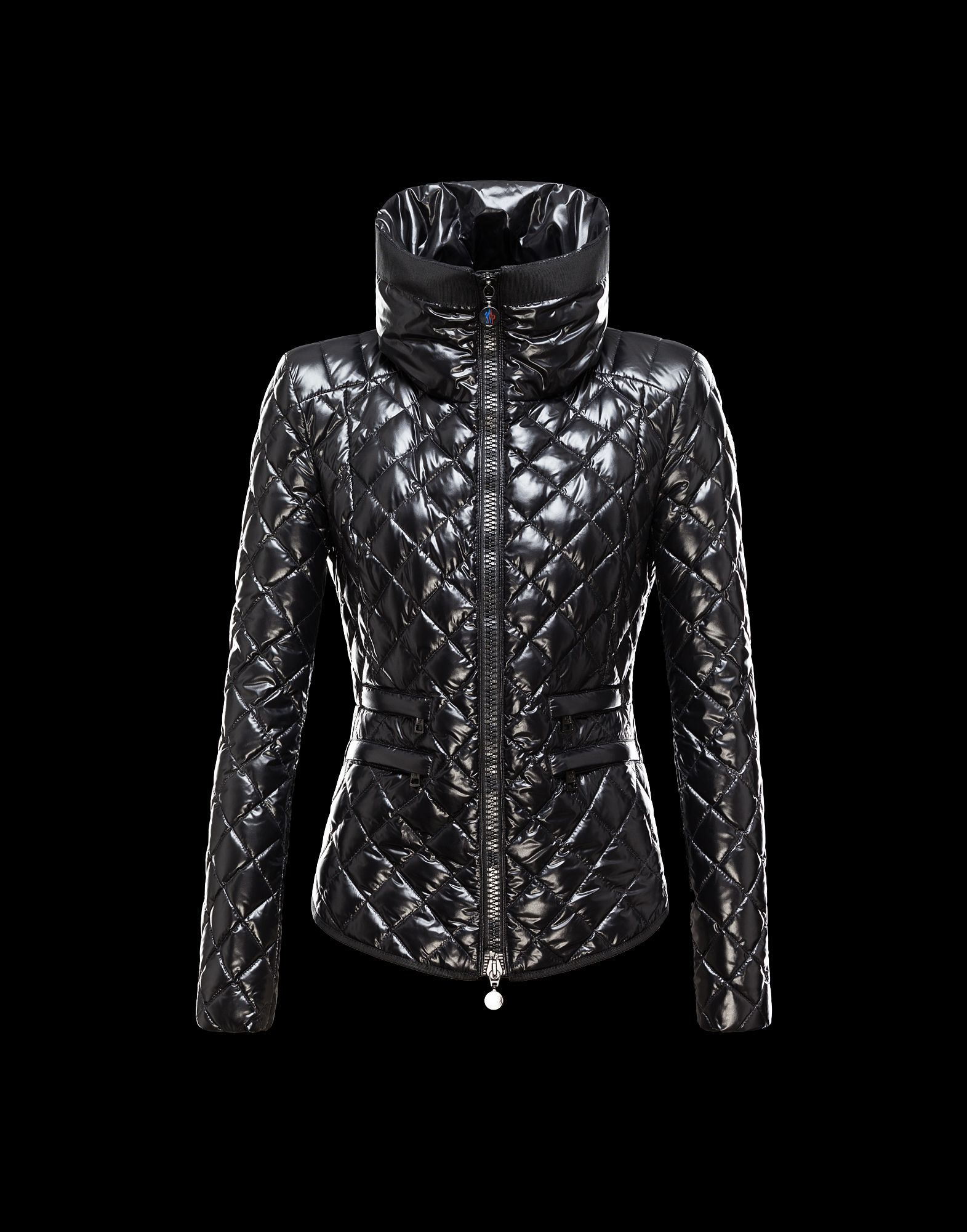 Moncler Champetre Popular Jackets Womens Black