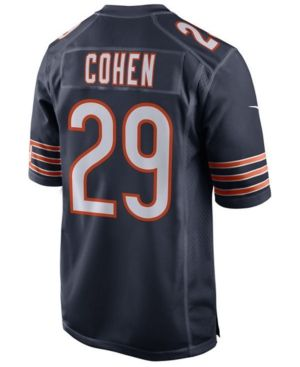 2a3f5491 Nike Men's Tarik Cohen Chicago Bears Game Jersey - Blue XXL ...