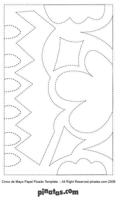 papel picado templates art in general pinterest papel picado templates papel picado y dia. Black Bedroom Furniture Sets. Home Design Ideas
