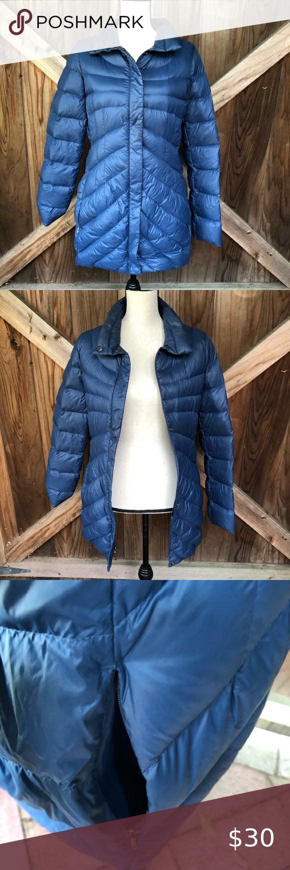 Blue Lands End Puffer Jacket Blue Puffer Jacket Puffer Jacket Women Long Puffer Coat [ 1740 x 580 Pixel ]