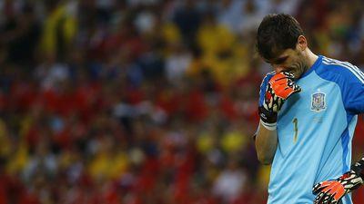 """Iker Casillas: """"Pedimos perdón a la gente, pero hemos hecho todo lo posible"""""""
