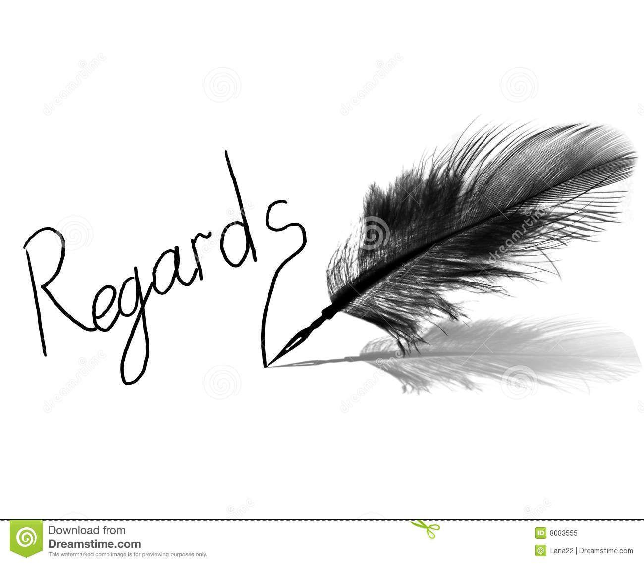 Regards Royalty Free Stock Photo Image 8083555