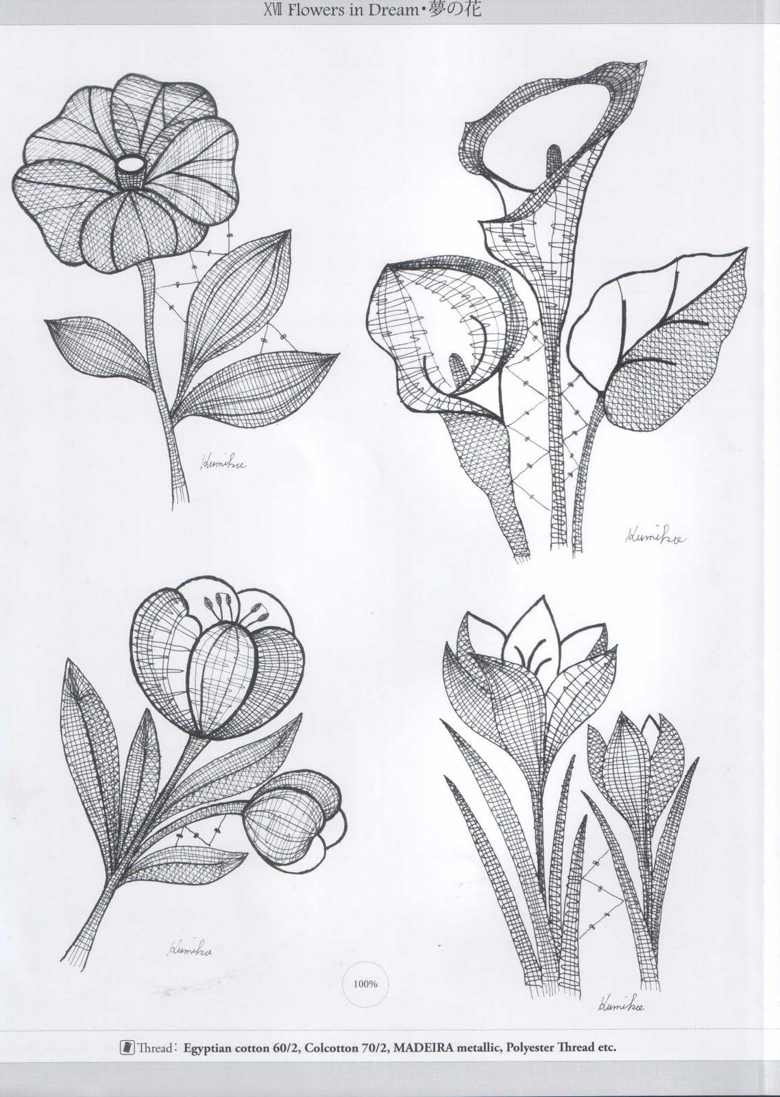 Fleur Pinterest Bobbin Lace Lace Patterns And