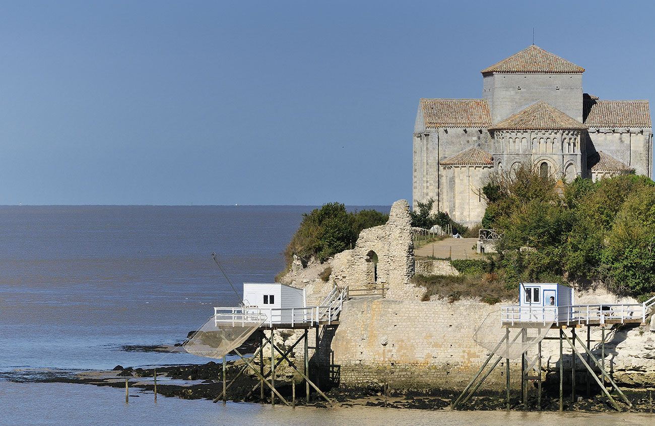 Talmont Sur Gironde Belle France Gironde Beaux Villages