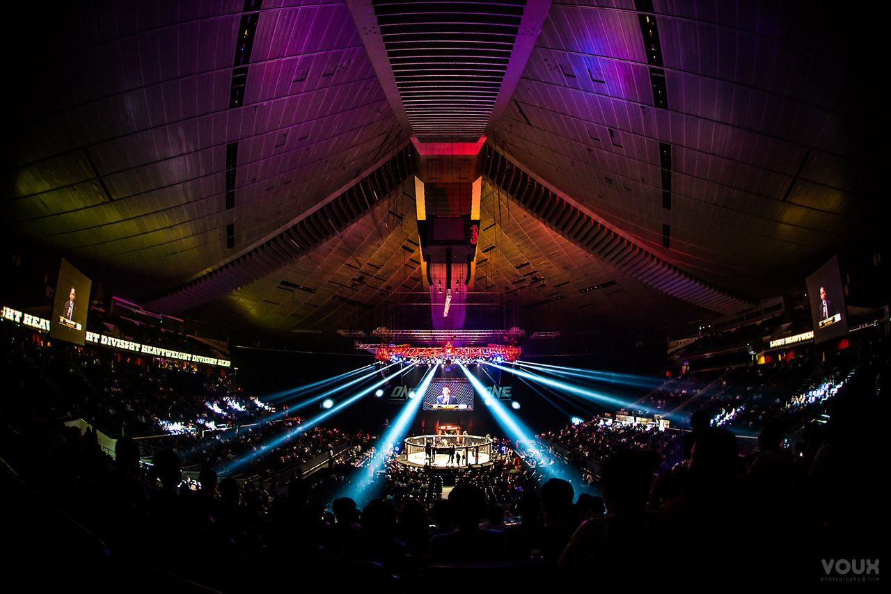 Event Photography Singapore: ONE Fighting Championships @ Singapore Indoor Stadium By