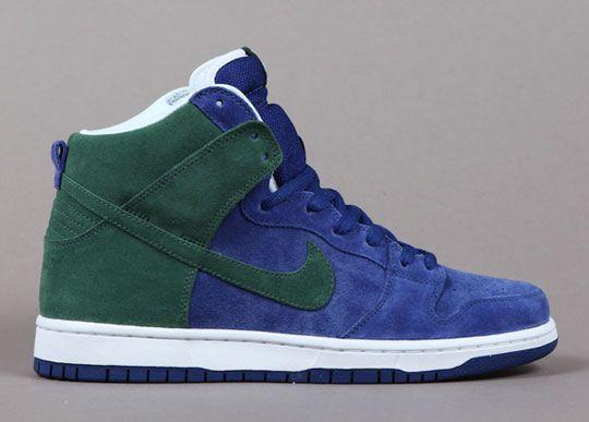Nike Sb Dunk High Invert Celtics Drops This Week Nike Sb Nike Sb Dunks Fresh Sneakers