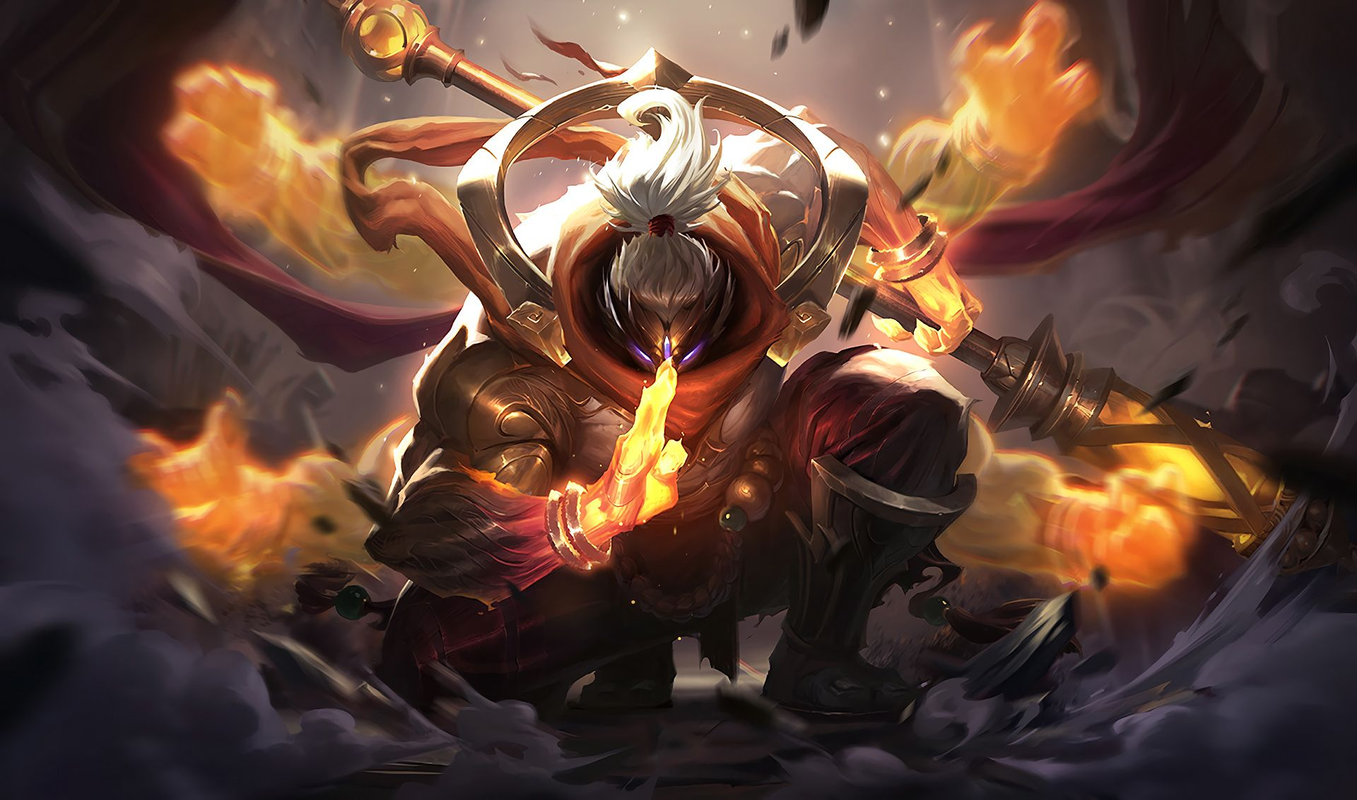 God Staff Jax | LoL Wallpapers | go in 2019 | League of