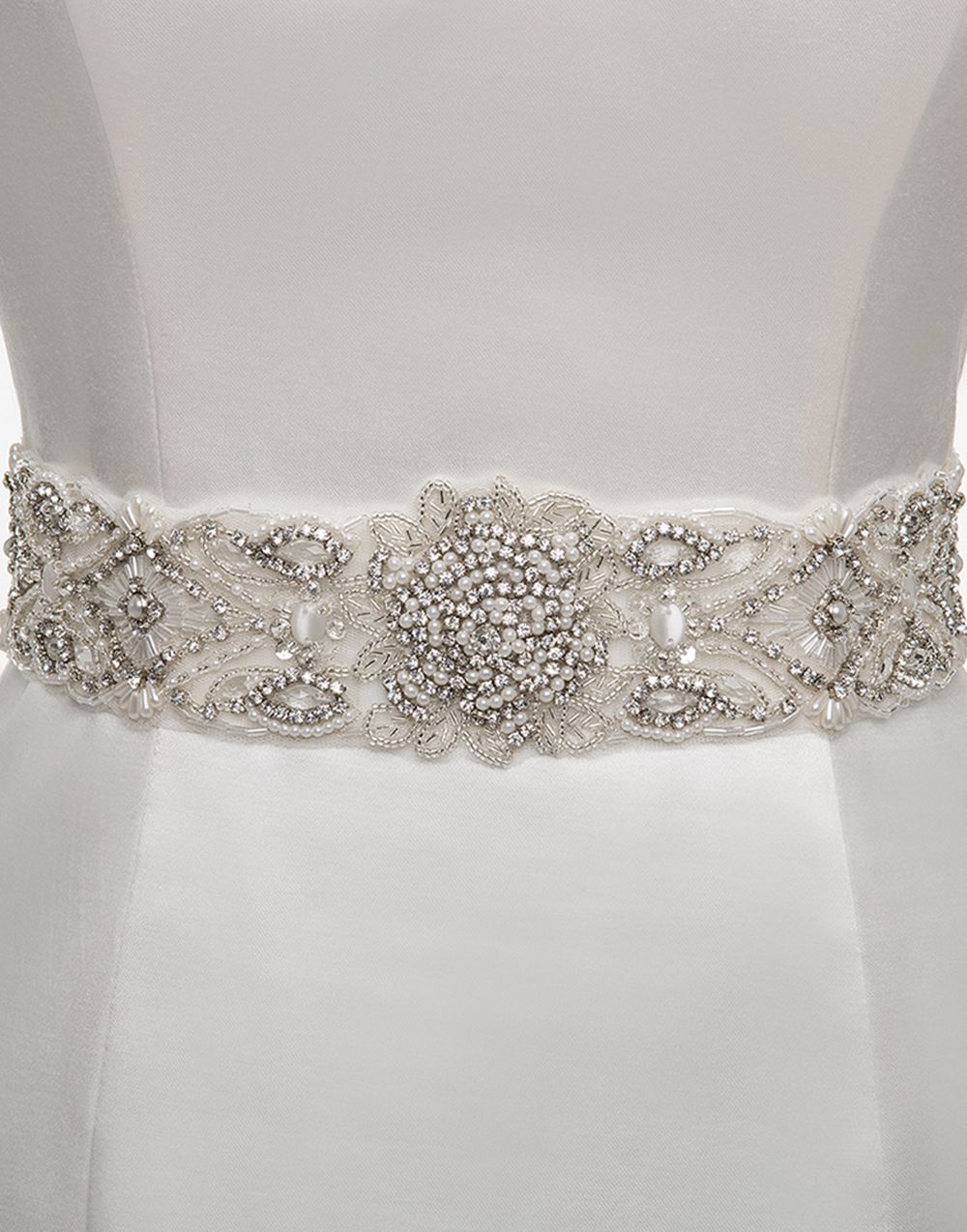 Sincerity wedding accessories style a095 yes i do for Wedding dress accessories belt