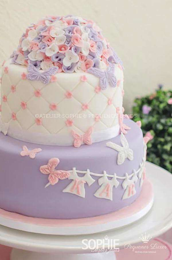 baby shower cakes purple and pink-#baby #shower #cakes #purple #and #pink Please Click Link To Find More Reference,,, ENJOY!!