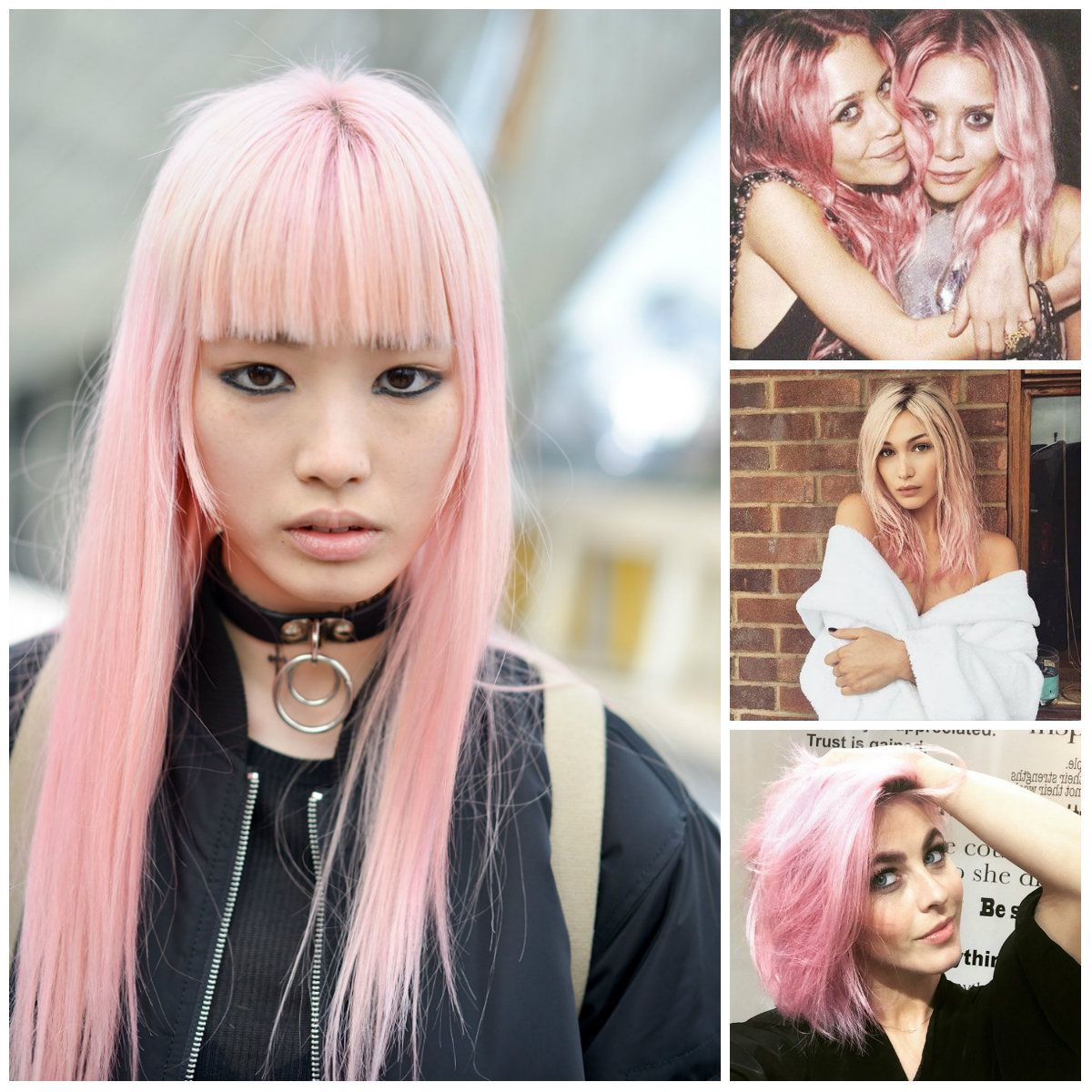 The New Platinum Hair Is Out There Waiting For Us Pink Officially Prettiest Color Its Combination Of Blonde And