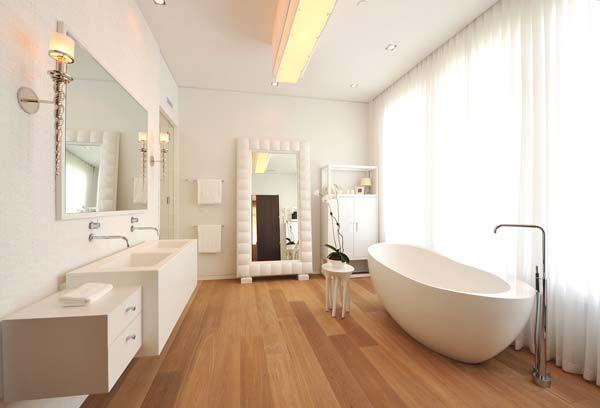 Delray Beach Residence Siberian Floors Badezimmer Holzboden Badezimmer Innenausstattung Und Badezimmer