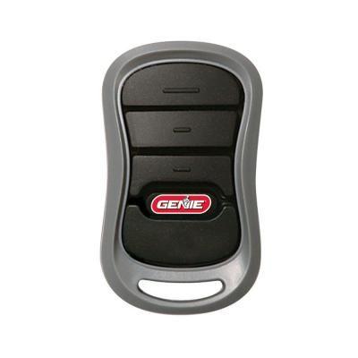 Genie 3 Button Garage Door Opener Remote With Intellicode Technology G3t R The Home Depot Garage Door Opener Remote Garage Door Remote Garage Door Remote Control