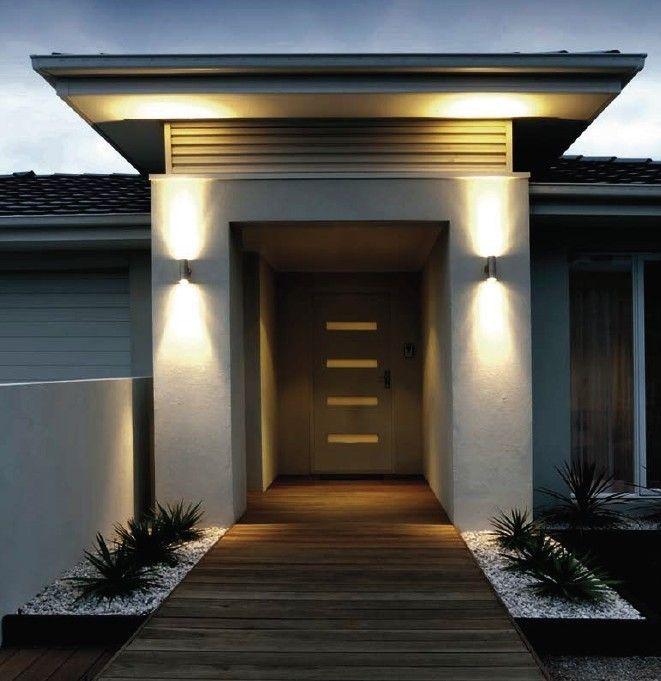 Ingresso esterno moderno cerca con google casa lago for Idee ingresso casa moderna