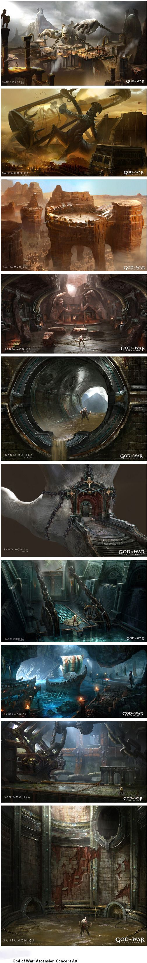 »»»God of War: Ascension Concept Art »»»