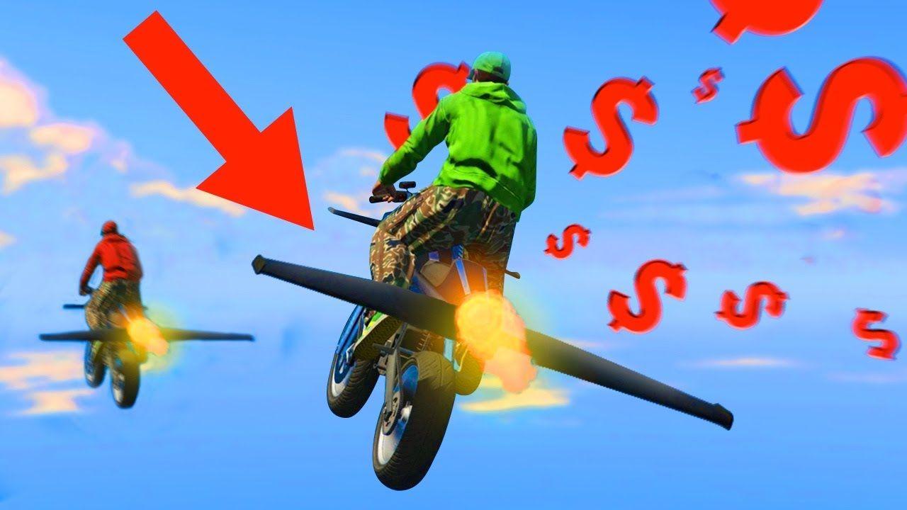 New 2 900 000 Flying Rocket Bike Gta 5 Dlc Gta 5 Gta Bike