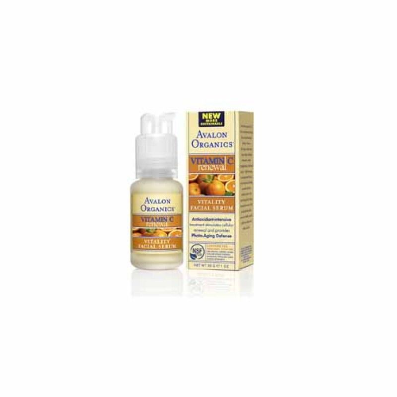 Avalon Organics Vitamin C Vitality Facial Serum - 1 oz