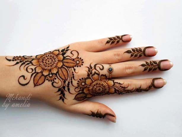 Design Of Mehndi For Women : Best eid wedding mehndi designs for girls women henna