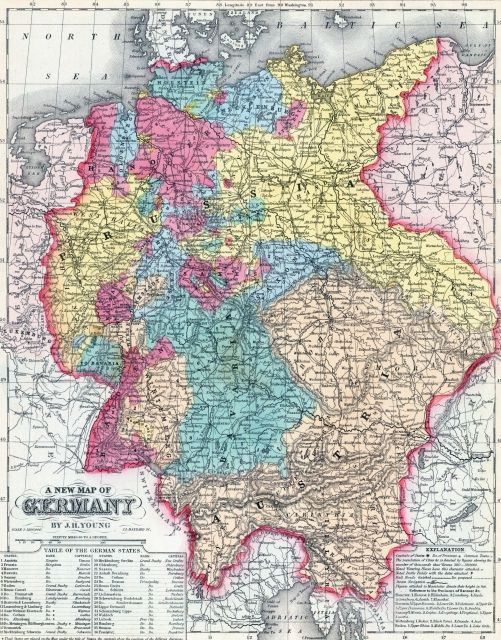 Germany Map See More At Httpwwweverythingaboutgermany - Germany map hd image