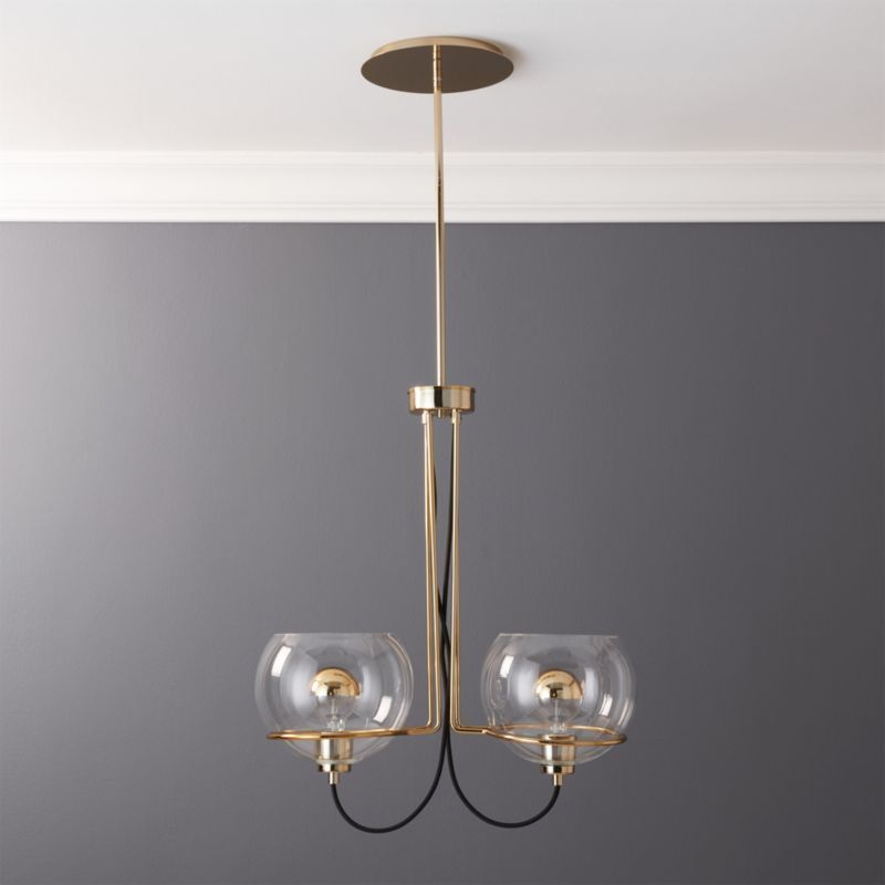 Shop Rest Double Pendant Light A Contemporary Take On Italian
