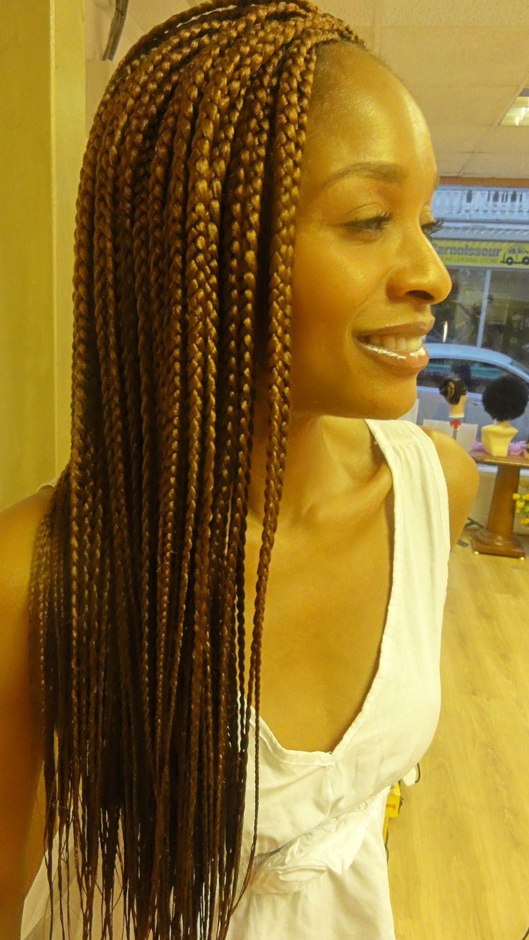 Singles hair braiding styles photos
