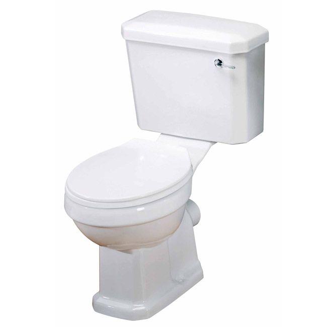 Premier Carlton Traditional Toilet With Seat Bathroom