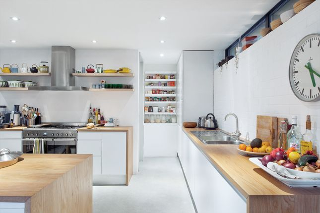 white cabinets wrapped in wood