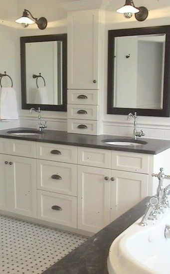 Cabinet Design Jack And Jill Traditional Bathroom Design Pictures Remodel  Decor And Ideas   Page 76
