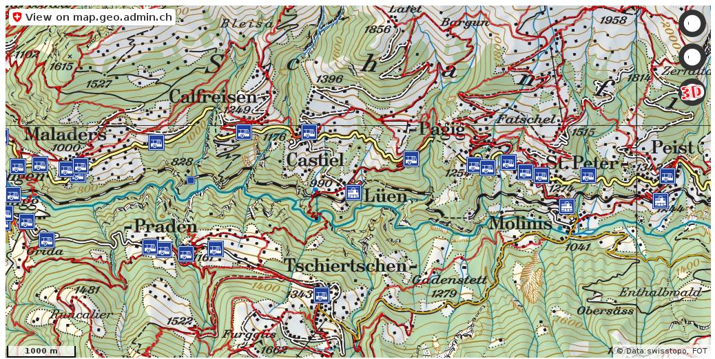 Arosa GR Wanderwege Karte trail httpifttt2hyoDXD karten swiss