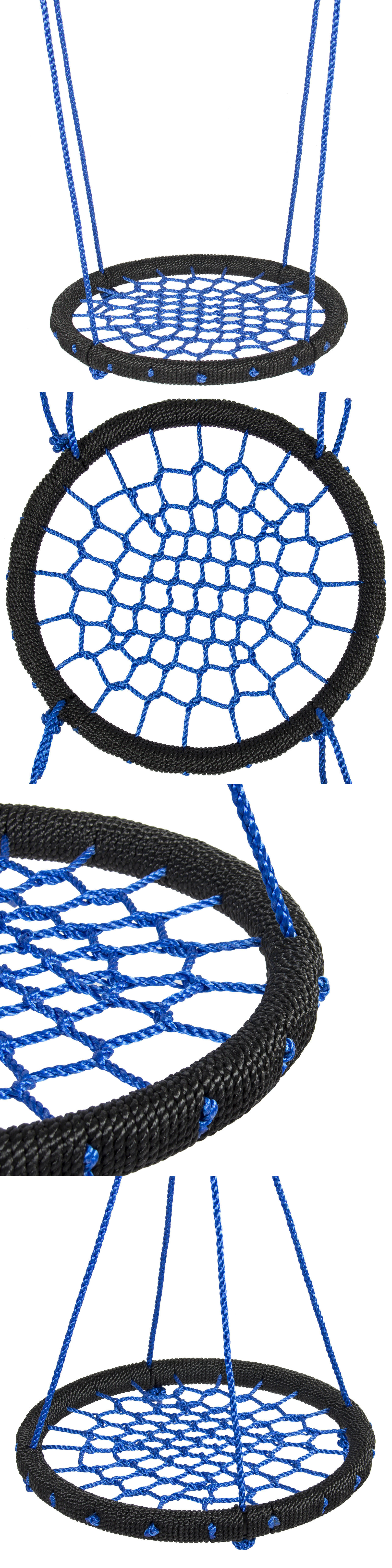 swings slides and gyms 16515 spider web riderz nest swing game