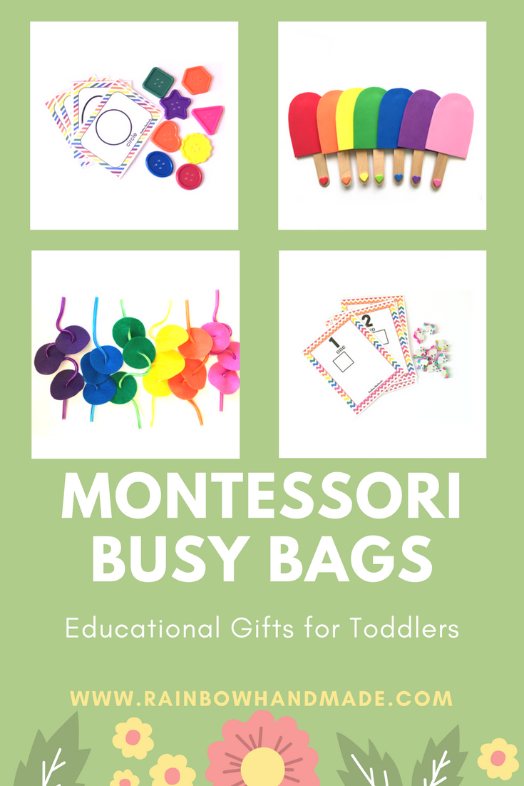 Montessori busy bags for toddlers, toddler busy bags, busy bags for ...