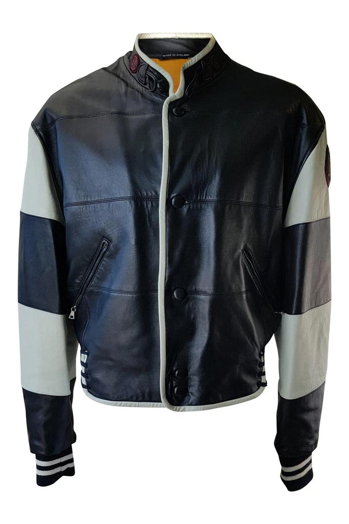 Next Women's Caramel Leather Jacket Size UK 12 EUR 40