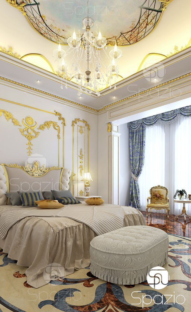 Interior Design And Decor For Luxury Modern Master Bedroom In Dubai UAE More Ideas The Cost Is On Web Site